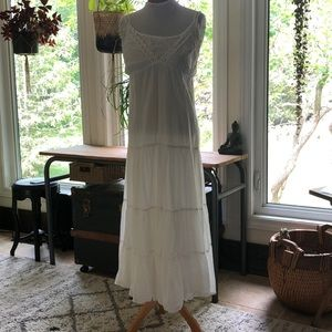 Large white Mexican dress
